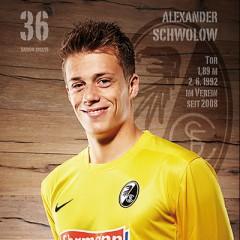 SC Freiburg Autogrammkarten 2012/2013